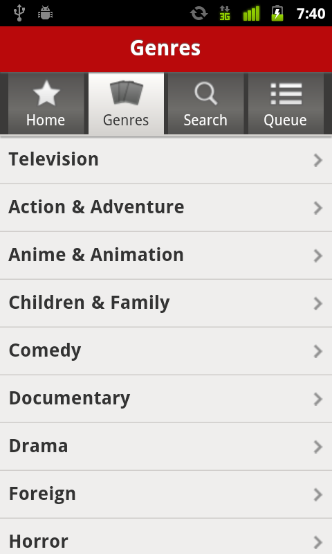 how to delete recents on netflix app