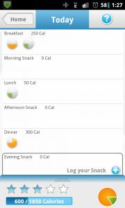 Noom Weight Loss Food Log