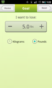 Noom Weight Loss Goal