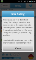 Noom Weight Loss Star Rating