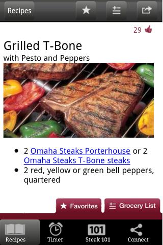 Omaha Steaks Launches Steak Time App For Android