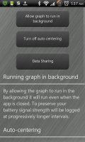 Open Signal Maps Data Options