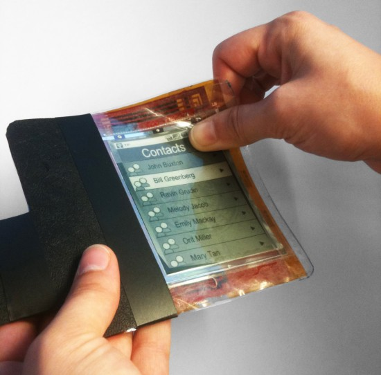 Paperphone running Android, Future of Smartphones?