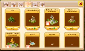 Paradise Island Decrations