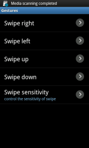 Perfect Keyboard Gesture Options