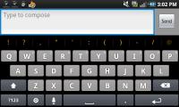 Perfect Keyboard Theme Iphone Horizontal