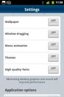 PocketCloud Settings
