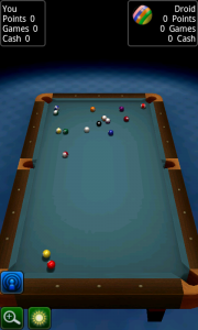 Pool Break Pro 8 Ball vs Droid