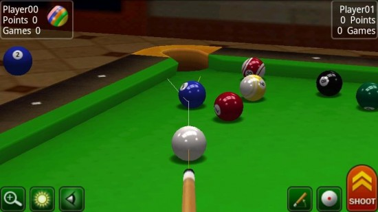 Pool Break Pro. All-in-one 3D Pool, Snooker, Carrom and Crokinole Multi-player Online Game