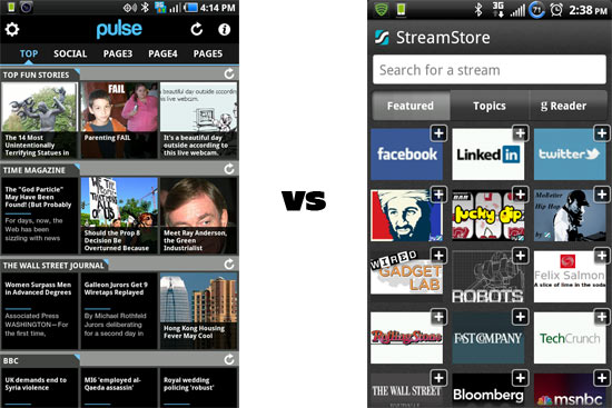 Pulse News Reader vs Taptu: A Competitive Comparison