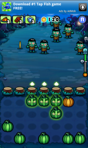 Pumpkins vs Monsters Gameplay 1
