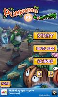 Pumpkins vs Monsters Title Screen