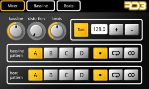 RD3 Groovebox - Mixer