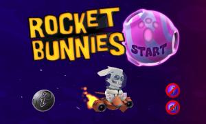 Rocket Bunnies Main Menu