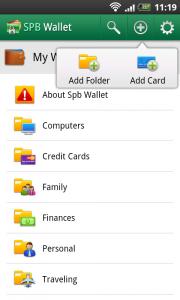 SPB Wallet - Add