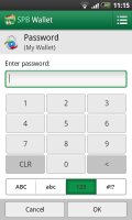 SPB Wallet - Password