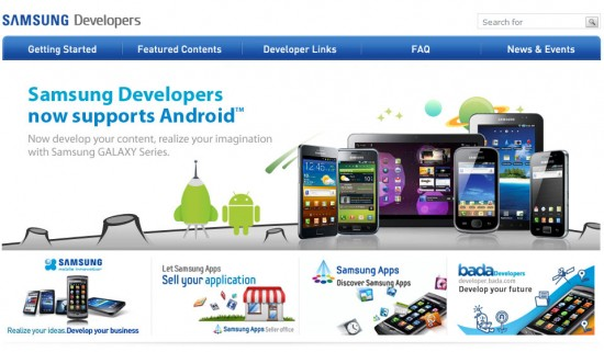 Samsung Launches Developer Forum just for Android App Developers