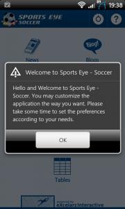 Sports Eye Soccer Welcome