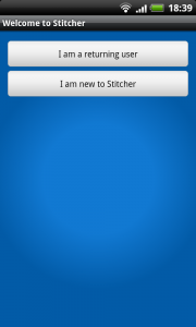 Stitcher Account Create