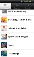 Stitcher Search by topic