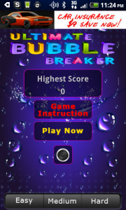 Ultimate Bubble Breaker Title
