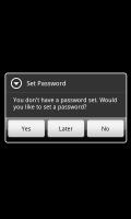 Vaulty Free - Set Password