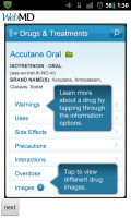 WebMD Drug Information