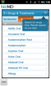 WebMD Drugs & Treatment