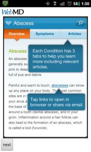 WebMD Symptom Overview