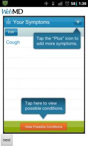 WebMD Your Symptoms