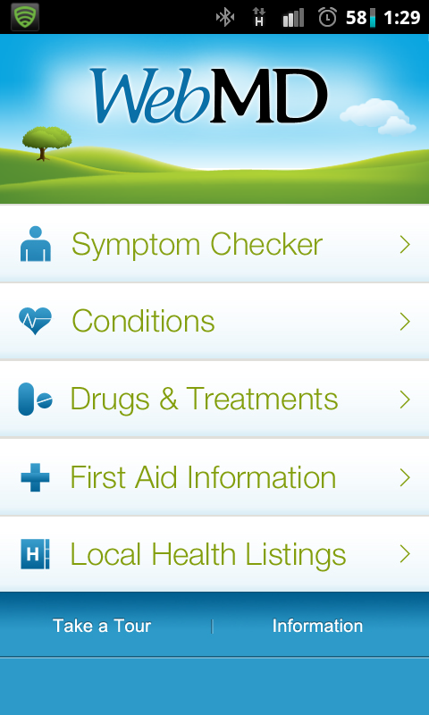 WebMD for Android. Symptom Checker, Drugs & Treatments, First Aid and more