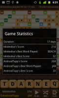 Wordsmith Game Stats