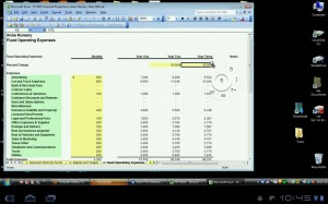 Wyse PocketCloud Pro RDP VNC Editing Excel Document