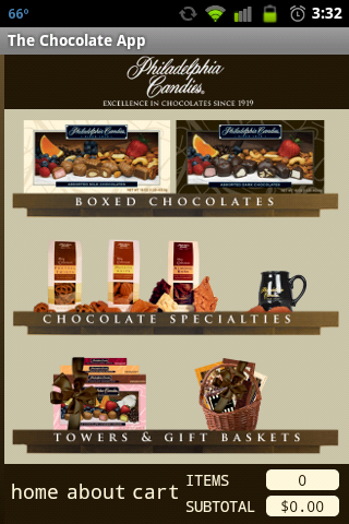 The Chocolate App