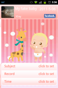 Baby Daychart Height & Weight