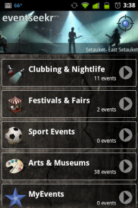 eventseekr Events