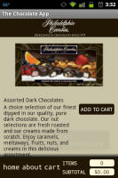 Chocolate App Product Description