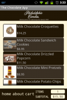 Chocolate App Specialties