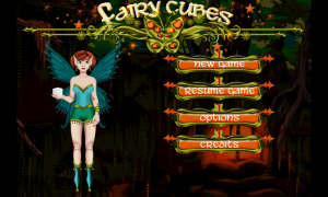 Fairy Cubes Main Menu