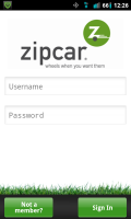 Zipcar Sign In
