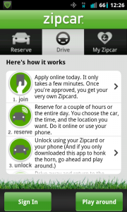 How Zipcar Works