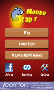 Mouse Trap Start Screen