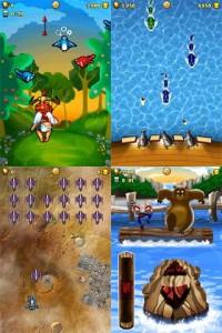 101-in-1 Games - Various in-game views 1