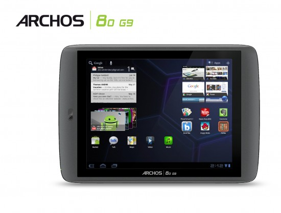 ARCHOS 8.0 G9 Android Tablet