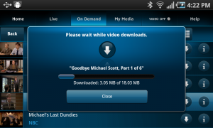 AT&T U-Verse Live TV Download Shows