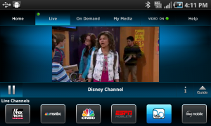 AT&T U-Verse Live TV EPSN Channel - Disney