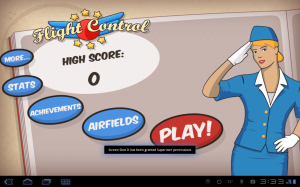 Air Control Main Menu