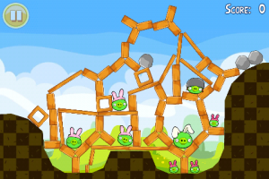 Angry Birds Easter Gameplay