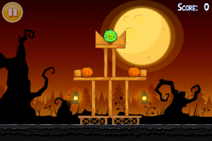 Angry Birds Halloween Gameplay