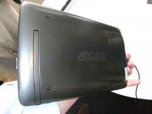Archos - 10.1 G9 Android Tablet Rear View
